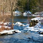Winter Stream by Monica M. Scanlan