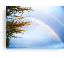 Double Rainbow 2 Canvas Print
