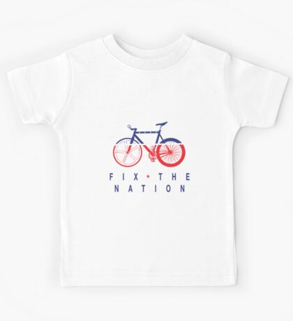 Fix The Nation Fixed Gear Kids Tee