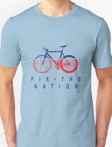 Fix The Nation Fixed Gear Unisex T-Shirt