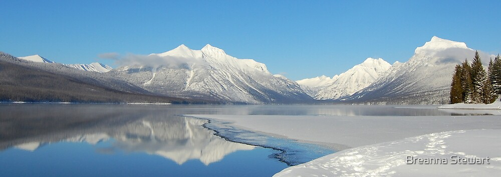 Lake McDonald-Glacier National Park by Breanna Stewart