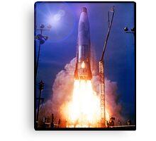 Atlas Missile Launch Canvas Print