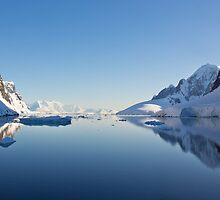 Lemaire Channel, Antarctica by Neville Jones