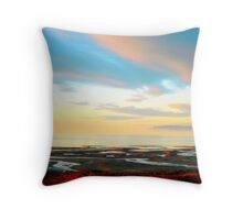 Impressions of Great Salt Lake ( 2 ) Throw Pillow