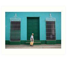 Trinidad Streetscape, CUBA Art Print