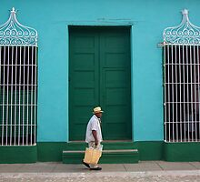 Trinidad Streetscape, CUBA by peppershot