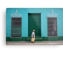 Trinidad Streetscape, CUBA Metal Print