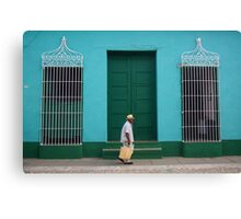 Trinidad Streetscape, CUBA Canvas Print