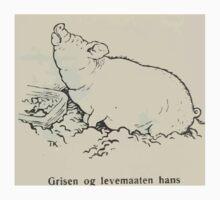 Theodor Kittelsen Grisen og levemaaten hans Eventyr1915p106 Baby Tee