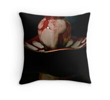 The Little Red Jar Throw Pillow