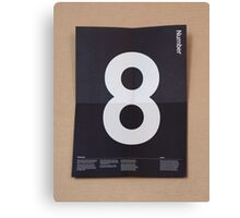 Number 8 Canvas Print