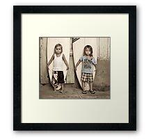 Kooks Framed Print