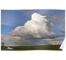 huge thunderstorm Poster