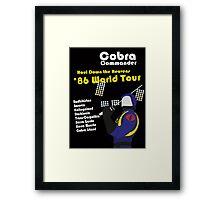 Cobra on Tour Framed Print