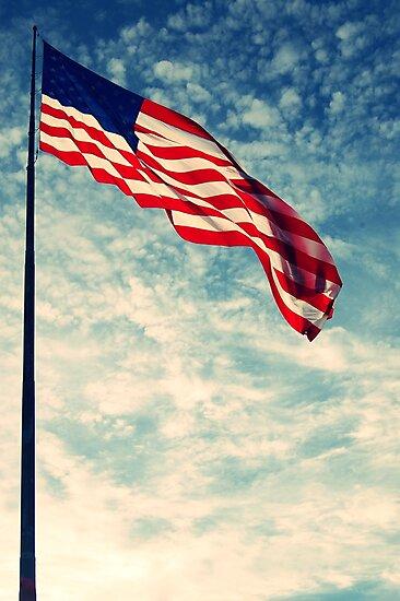 American Flag by heyheymandykay
