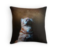 when you wish upon a star.... Throw Pillow