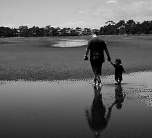 Reflections of a Father and Son by Sonja Wells