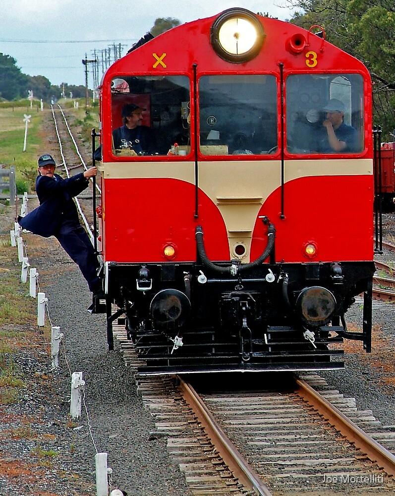 Playing Trains by Joe Mortelliti