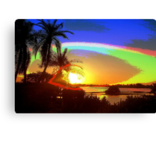 In god's eye Canvas Print