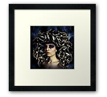 Medusa Once Was Beautiful... Framed Print