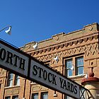 Fort Worth TX, Historic Stockyard District by Debbie Robbins