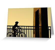 Out Riding Greeting Card