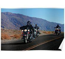 Dark Riders - Death Valley Bikers Poster