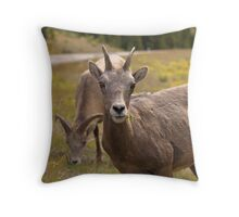 Flower for me? Throw Pillow