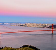 Golden Gate Bridge From Marin Headlands by Svetlana Day