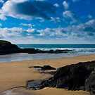 Treyarnon Bay Cornwall UK by David Wilkins