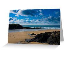 Treyarnon Bay Cornwall UK Greeting Card