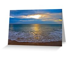 Clouds of light and shade Greeting Card