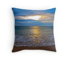 Clouds of light and shade Throw Pillow