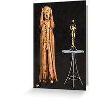 The Scream World Tour Oscars Greeting Card