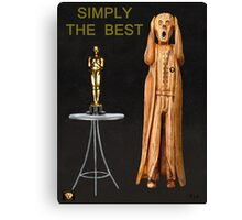 The Scream World Tour Oscars Simply The Best Canvas Print