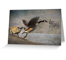 """Wild Goose Chase"" Greeting Card"