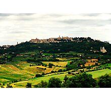 Montepulciano Photographic Print