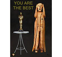 The Scream World Tour Oscars You Are The Best Photographic Print