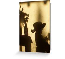Shadow Play - my boy Greeting Card