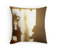 Shadow Play - child Throw Pillow