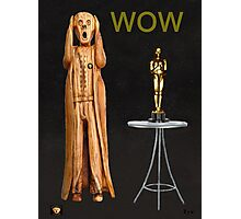 The Scream World Tour Oscars Wow Photographic Print