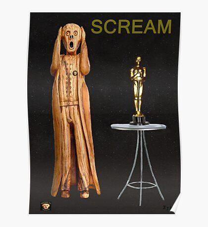 The Scream World Tour Oscars Scream Poster