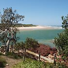 View from the lookout at Redrock Beach by 3Cavaliers