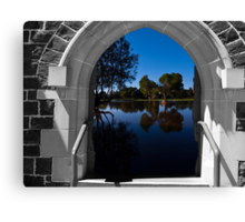 Doorway with a view Canvas Print