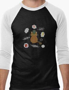 Purrlock Holmes Men's Baseball ¾ T-Shirt