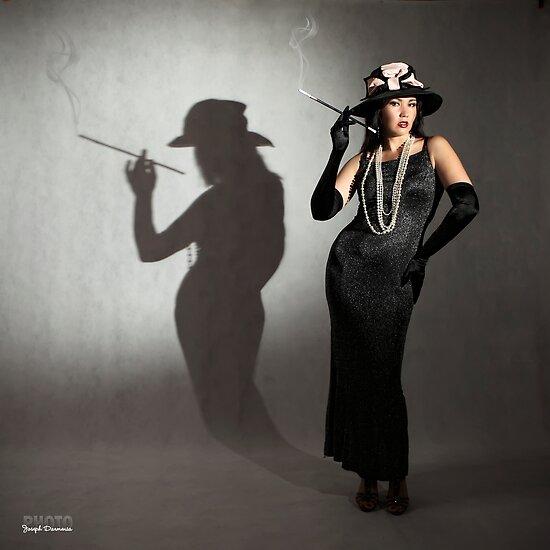 The smoking shadow by zemi