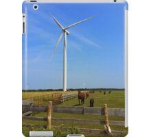 Wind and Horse Farm iPad Case/Skin