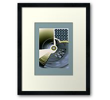 Grey Collage 1 Framed Print