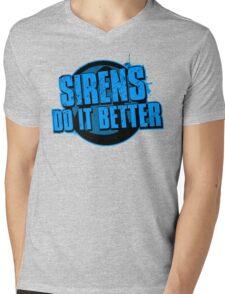 Sirens Do It Better (blue) Mens V-Neck T-Shirt