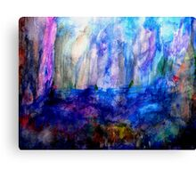 Ice World Canvas Print